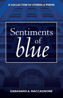 Sentiments of Blue book cover